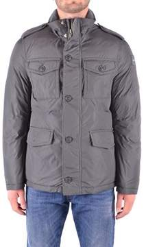 Dekker Men's Grey Cotton Outerwear Jacket.