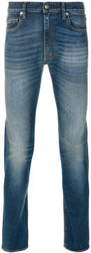 Mauro Grifoni faded slim-fit jeans