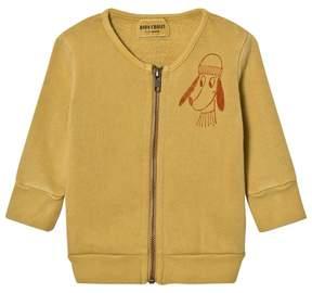 Bobo Choses Yellow Loup de Mer Zip Sweatshirt