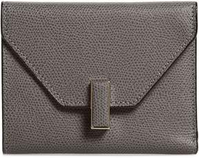 Valextra Iside Leather Trifold Wallet