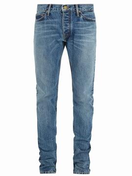 Fear Of God Expandable-hem skinny-fit jeans