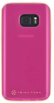 Trina Turk Translucent Samsung Phone Case - Pink - Galaxy S7 Edge