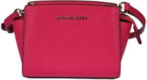 Michael Kors Mini Selma Shoulder Bag - ULTRA PINK - STYLE
