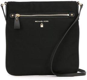 MICHAEL Michael Kors Kelsey Nylon Large Cross-Body Bag - BLACK - STYLE