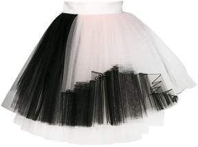 Fausto Puglisi two-tone tulle skirt