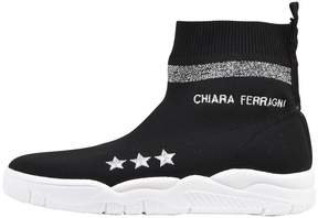 Chiara Ferragni Knit Sock High-top Sneaker