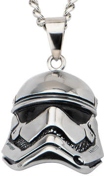 Star Wars FINE JEWELRY Stainless Steel Episode VII Stormtrooper 3D Pendant Necklace
