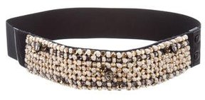 Lanvin Embellished Waist Belt