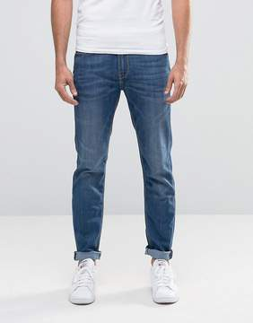 Lee Jeans Arvin Stretch Slim Tapered Fit Blue Legacy Mid Wash