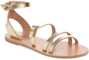 Ancient Greek Sandals Women's Olympia Metallic Leather Sandal