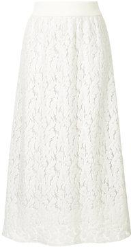 ESTNATION patterned A-line skirt