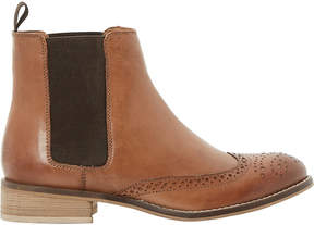 Dune Quentin leather ankle boots