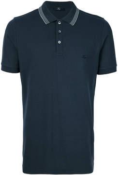 Fay logo crest polo shirt