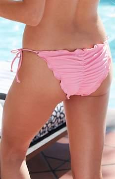 La Hearts Basic Cinched Bikini Bottom