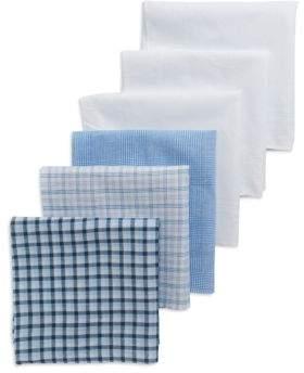 Black & Brown Black Brown Six Pack Handkerchiefs