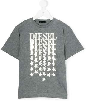 Diesel logo printed T-shirt