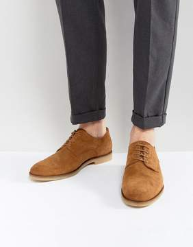 Zign Shoes Suede Desert Shoes In Brown