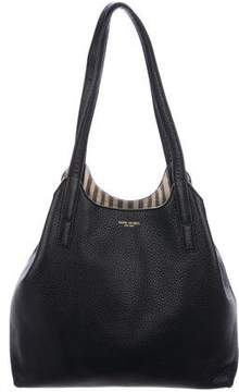 Henri Bendel Leather Tassel Tote