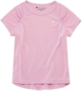 Champion Short Sleeve Crew Neck T-Shirt-Preschool Girls