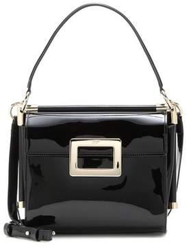 Roger Vivier Miss Viv' Carré Small patent leather shoulder bag