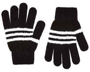 Forever 21 Fuzzy Striped Gloves