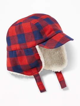 Old Navy Sherpa-Trim Trapper Hat for Toddler Boys