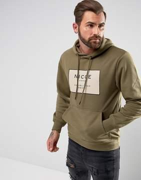Nicce London hoodie with box logo