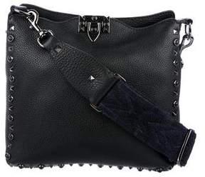 Valentino Noir Rolling Rockstud Crossbody Bag