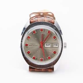 Blade + Blue Vintage 1970&|39;s Timex Day/Date Sports Watch