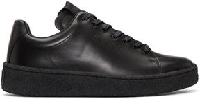 Eytys Black Leather Ace Sneakers