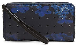 Banana Republic Studded Floral Continental Phone Wallet