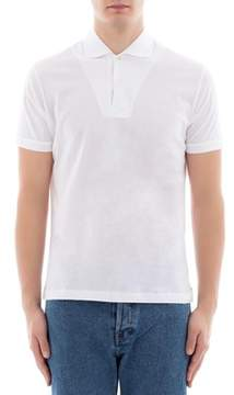 Orian Men's White Cotton Polo Shirt.