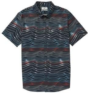 Billabong Sundays Lines Waves Woven Shirt