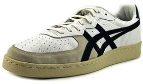 Onitsuka Tiger by Asics Gsm Women Round Toe Suede White Sneakers.