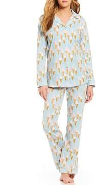 BedHead Soft Swirl Classic Knit Pajama Set