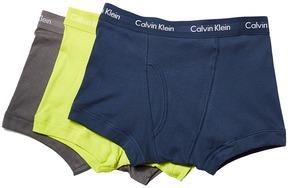 Calvin Klein Underwear Cotton Classics Trunk 3-Pack NB1119 Men's Underwear