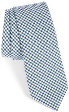 1901 Men's Plaid Cotton Tie