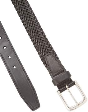Cole Haan Men's Elastic Braid Square Buckle Belt