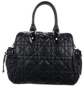 Christian Dior Leather Cannage Tote