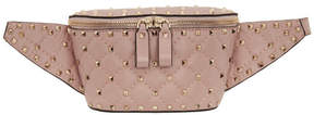Valentino Pink Garavani Rockstud Belt Bag