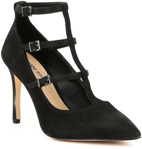 Gianni Bini Nykell Caged Buckle Pumps