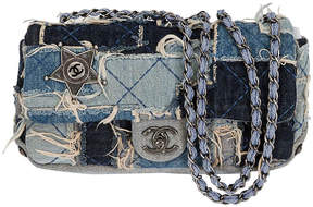 One Kings Lane Vintage Chanel Denim Dallas Ltd. Ed. Flap