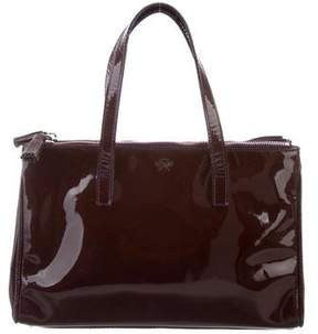 Anya Hindmarch Mini Patent Leather Tote