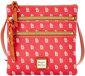 Dooney & Bourke MLB Collection St Louis Cardinals Triple Zip Cross-Body Bag - RED - STYLE