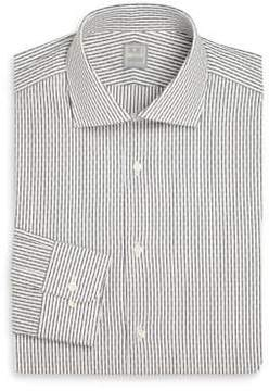 Ike Behar Regular-Fit Stripe Dress Shirt