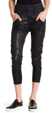 Diesel Fayza Coated Stretch Straight Leg Jeans