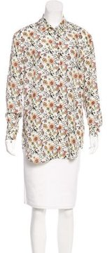 Adriano Goldschmied Silk Floral Printed Top