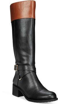 Style&Co. Style & Co Vedaa Wide-Calf Boots, Created for Macy's Women's Shoes