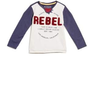 GUESS Boy's Long-Sleeve Rebel Tee (2-7)