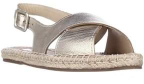 Pour La Victoire Olivia Espadrille Slingback Sandals, Gold.